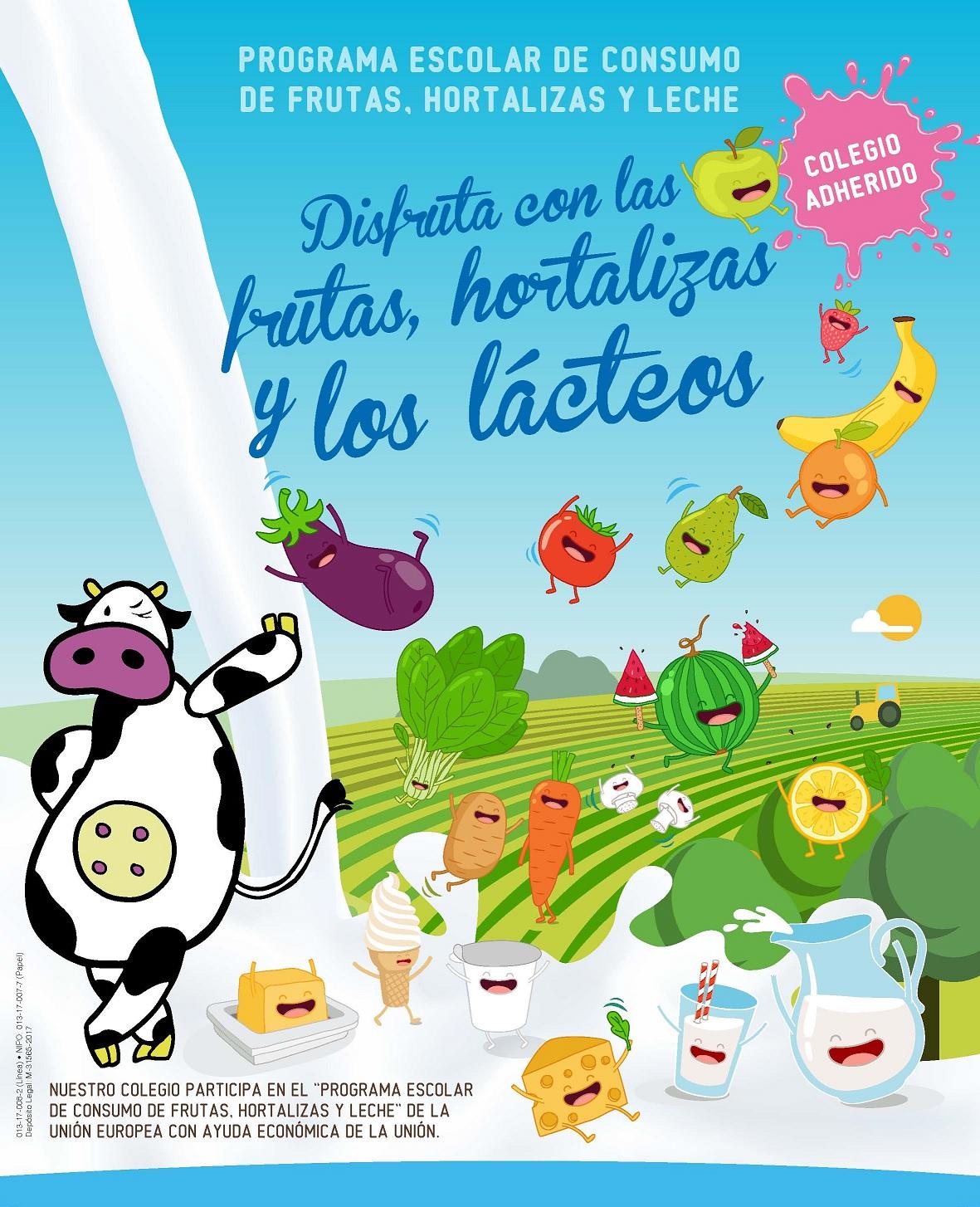 Resultado de imagen de disfruta de las frutas los lacteos y hortalizas
