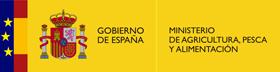 Escudo de España con el texto: Ministerio de Agricultura, Alimentación y Medio Ambiente